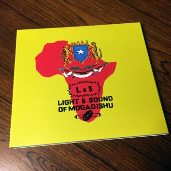 Record sleeve design for Afro7 records´ release ''Light & Sound of Mogadishu'' (Click for more info)
