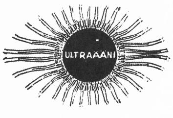 A logo for Ultraääni Records (Click for more info)